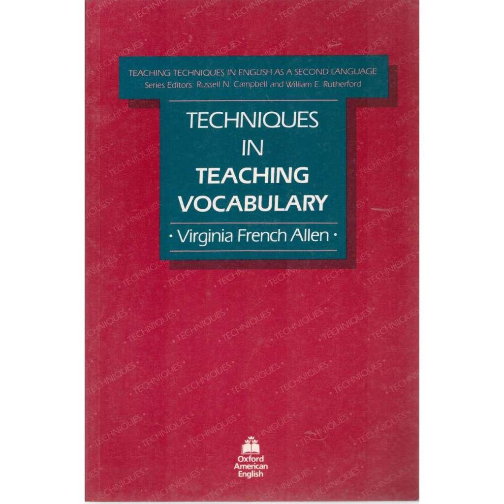 Technique in Teaching Vocabulary