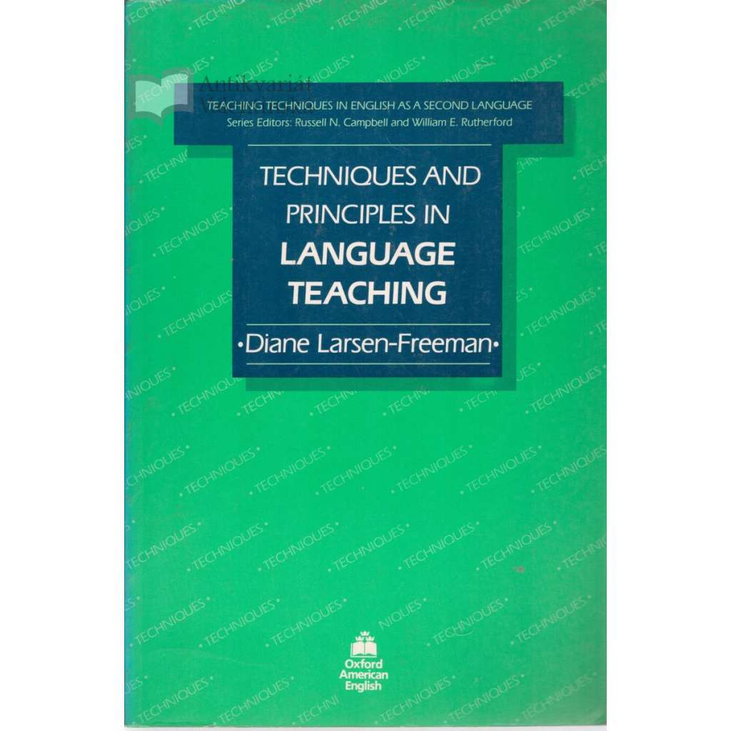 Technique and Principales in Language Teaching