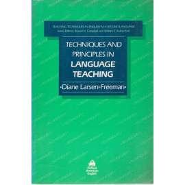 Technique and Principales in Language Teaching