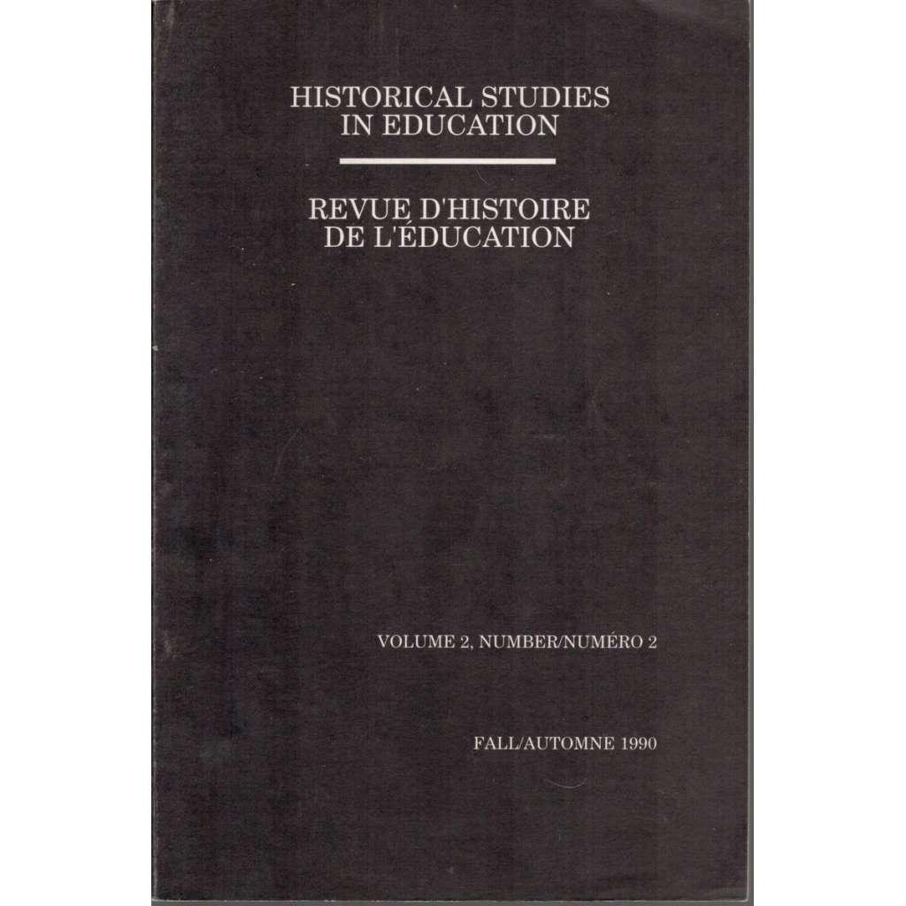 Historical Studies in Education/Revue d´ historie de l´ education, volume 2