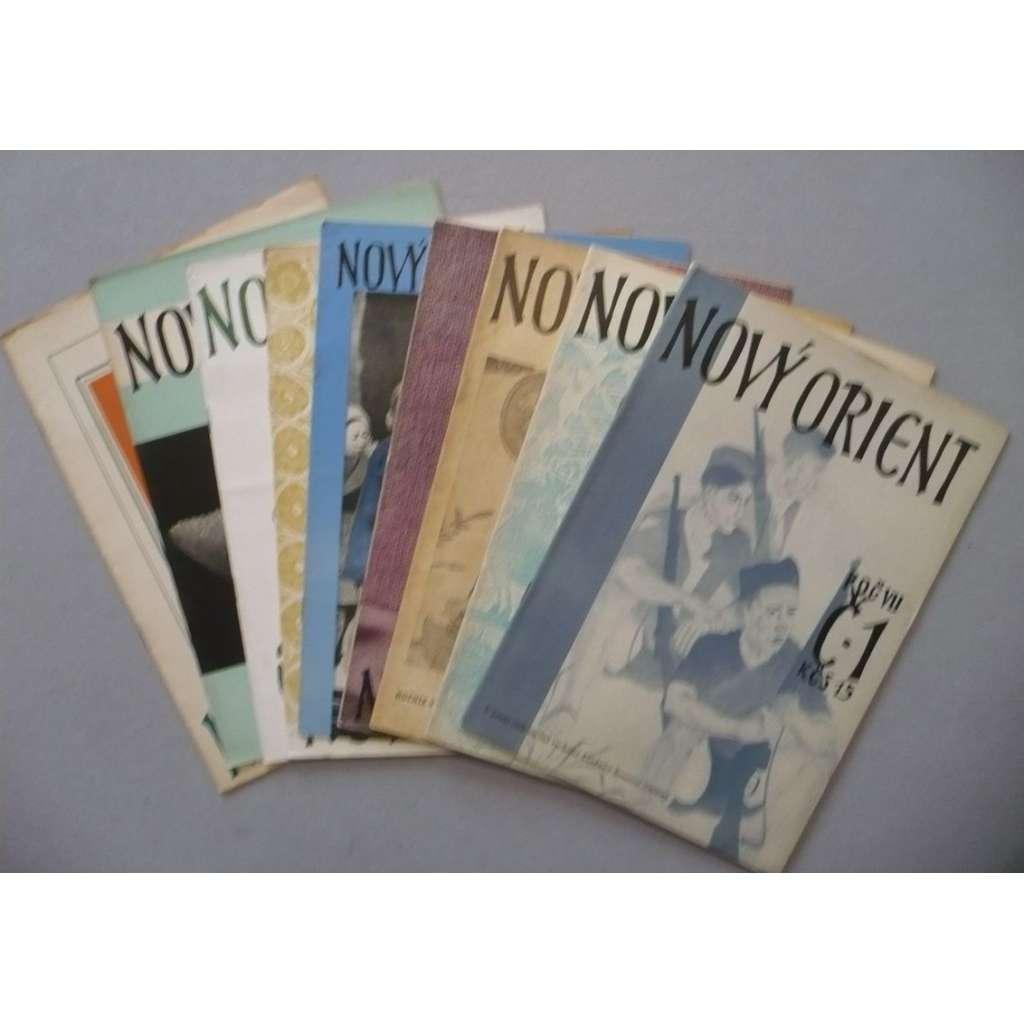 Nový Orient, roč. VII./1952 kompletní