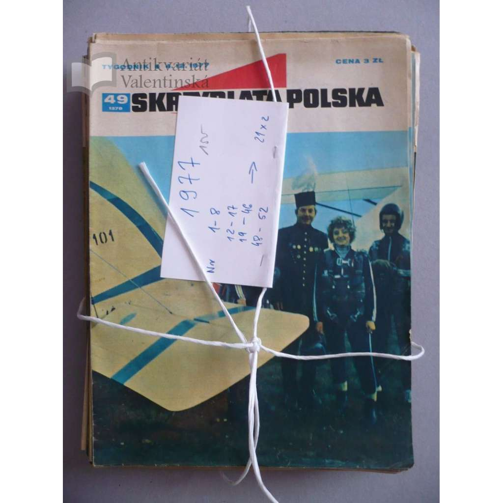 Okřídlené Polsko, roč.1977 (letectví, astronautika), časopis