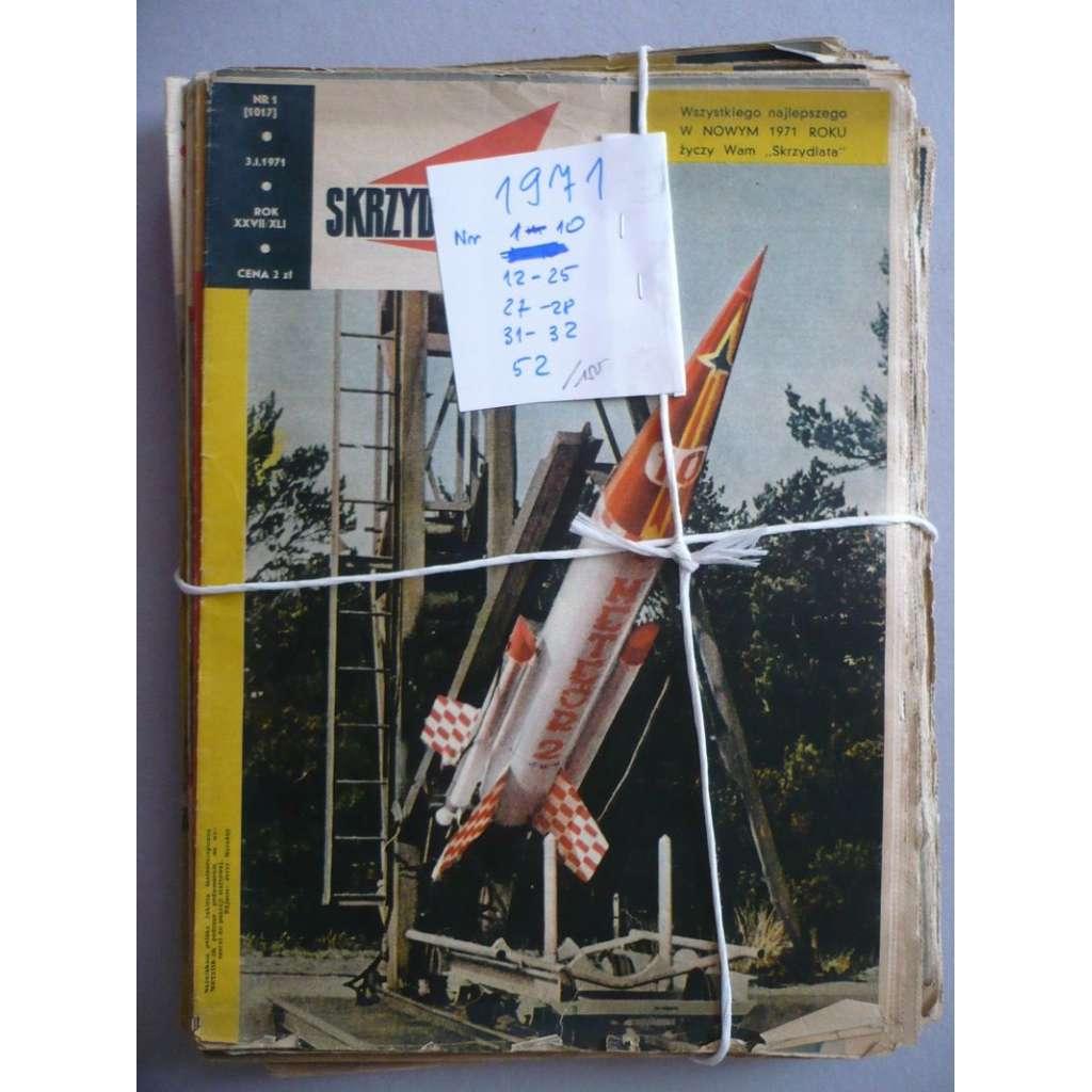 Okřídlené Polsko, roč.1971 (letectví, astronautika), časopis