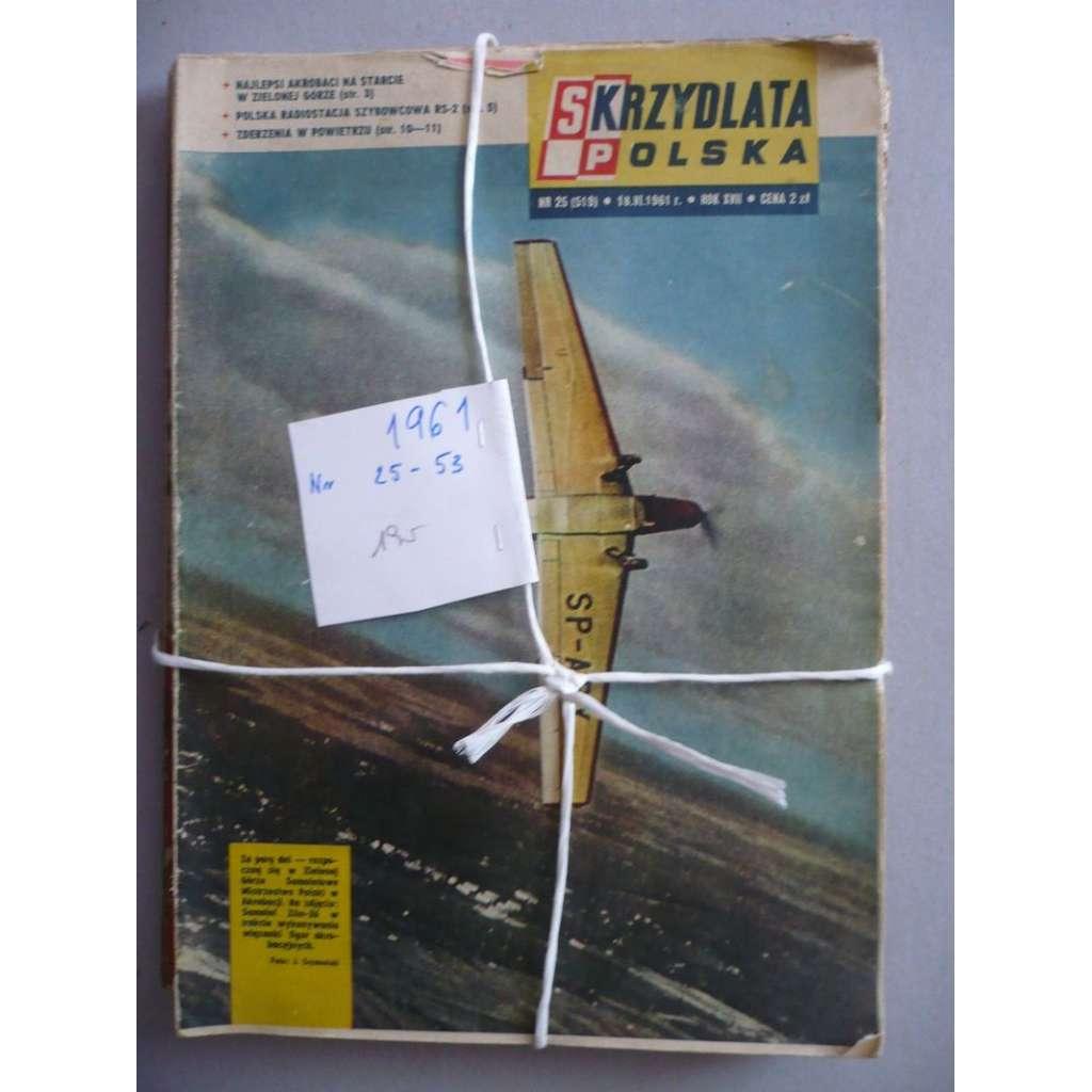 Okřídlené Polsko, roč.1961 (letectví, astronautika), časopis