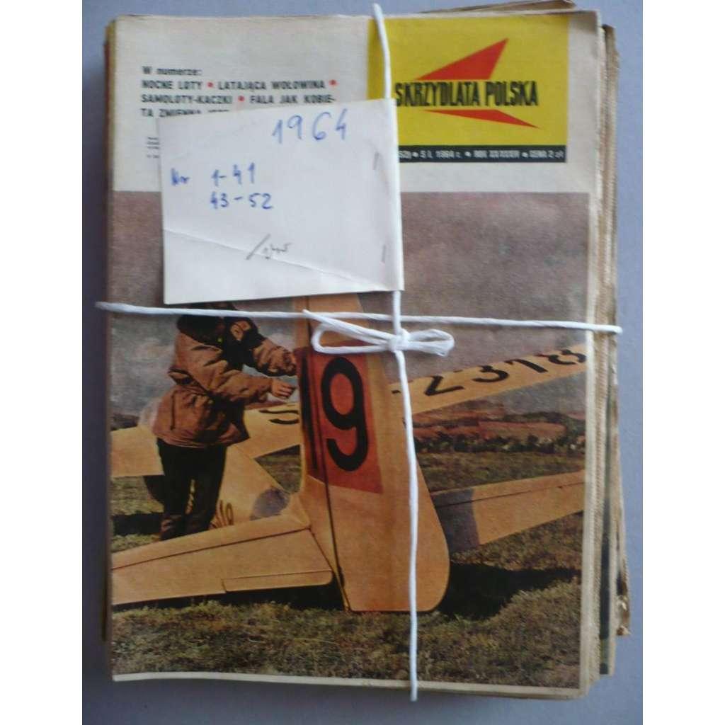 Okřídlené Polsko, roč.1964 (letectví, astronautika), časopis