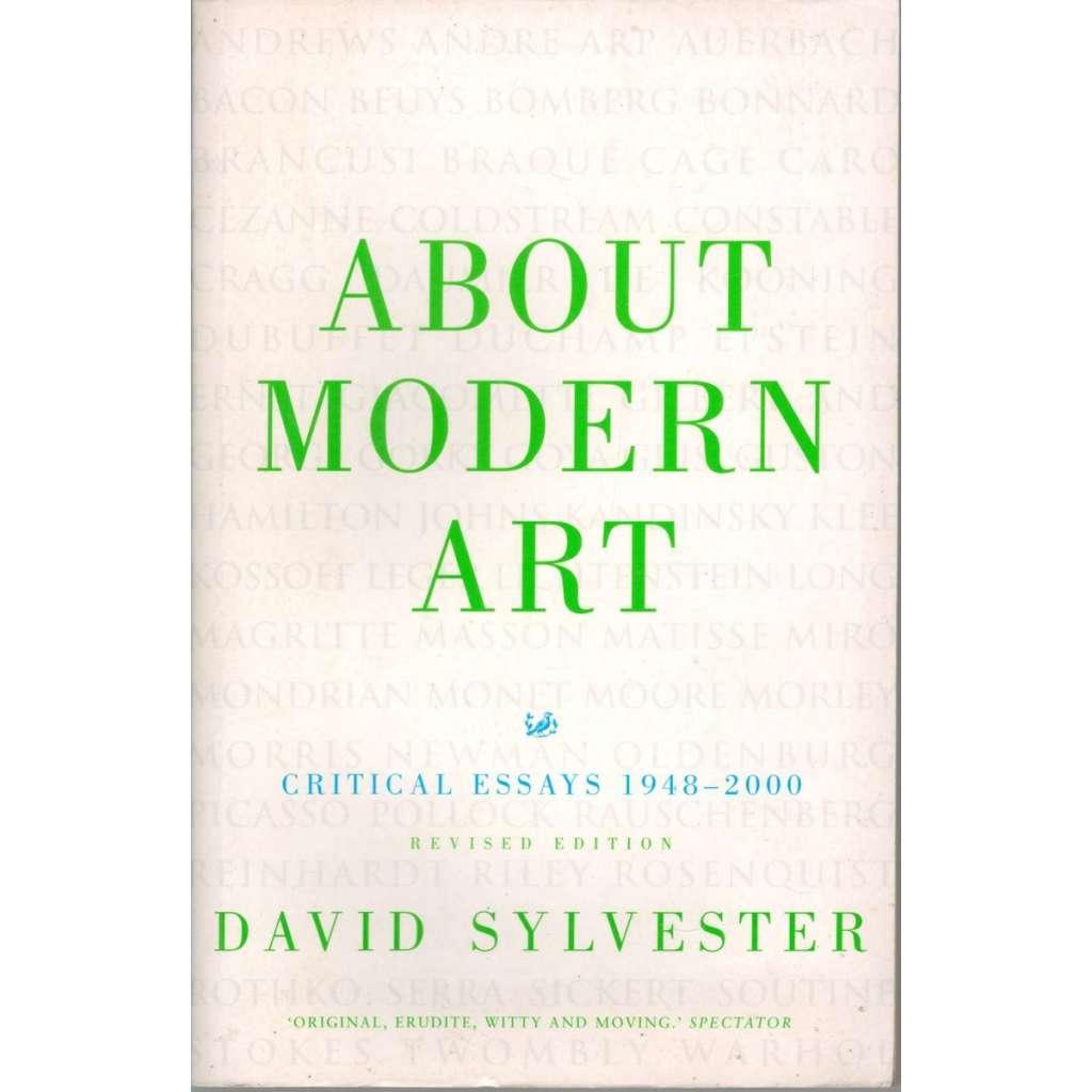 About Modern Art (O moderním umění)