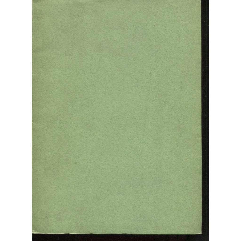 Vlast, tři básně: O. Theera, A. Sovy a V. Dyka (soukromý tisk)