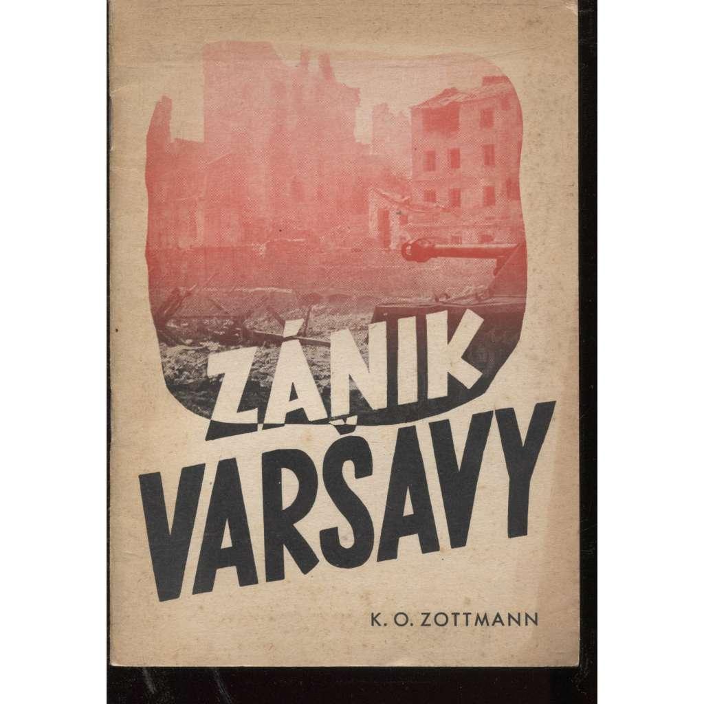 Zánik Varšavy. Líčení válečného zpravodaje (Varšava)