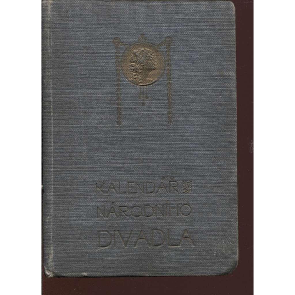 Kalendář Národního divadla v Praze na rok 1908. Ročník XXVII. (Národní divadlo, Praha)