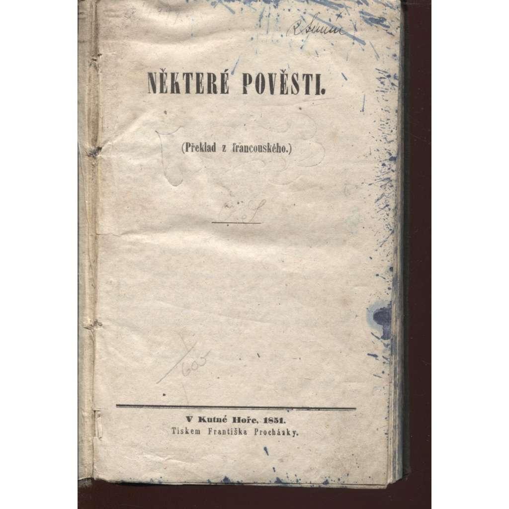 Některé pověsti (1851)
