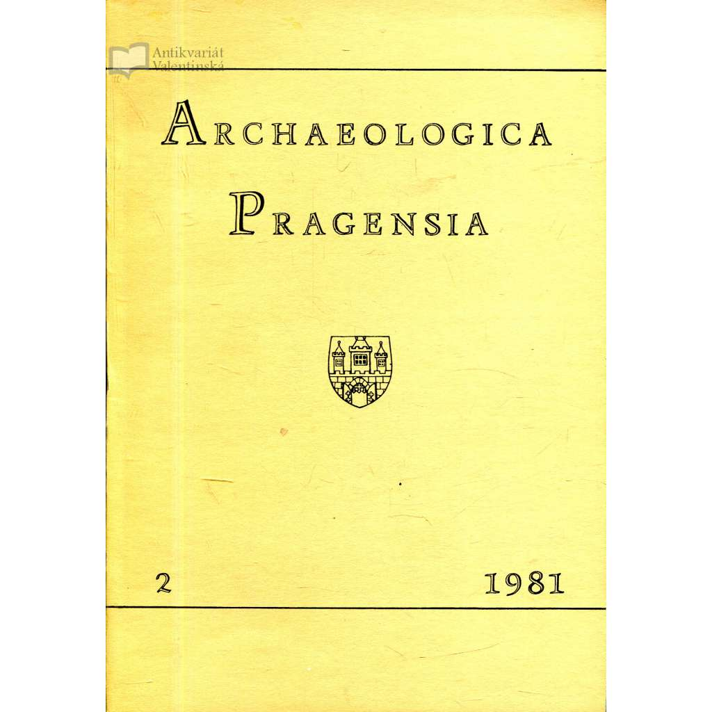 Archaeologica Pragensia 2/1981