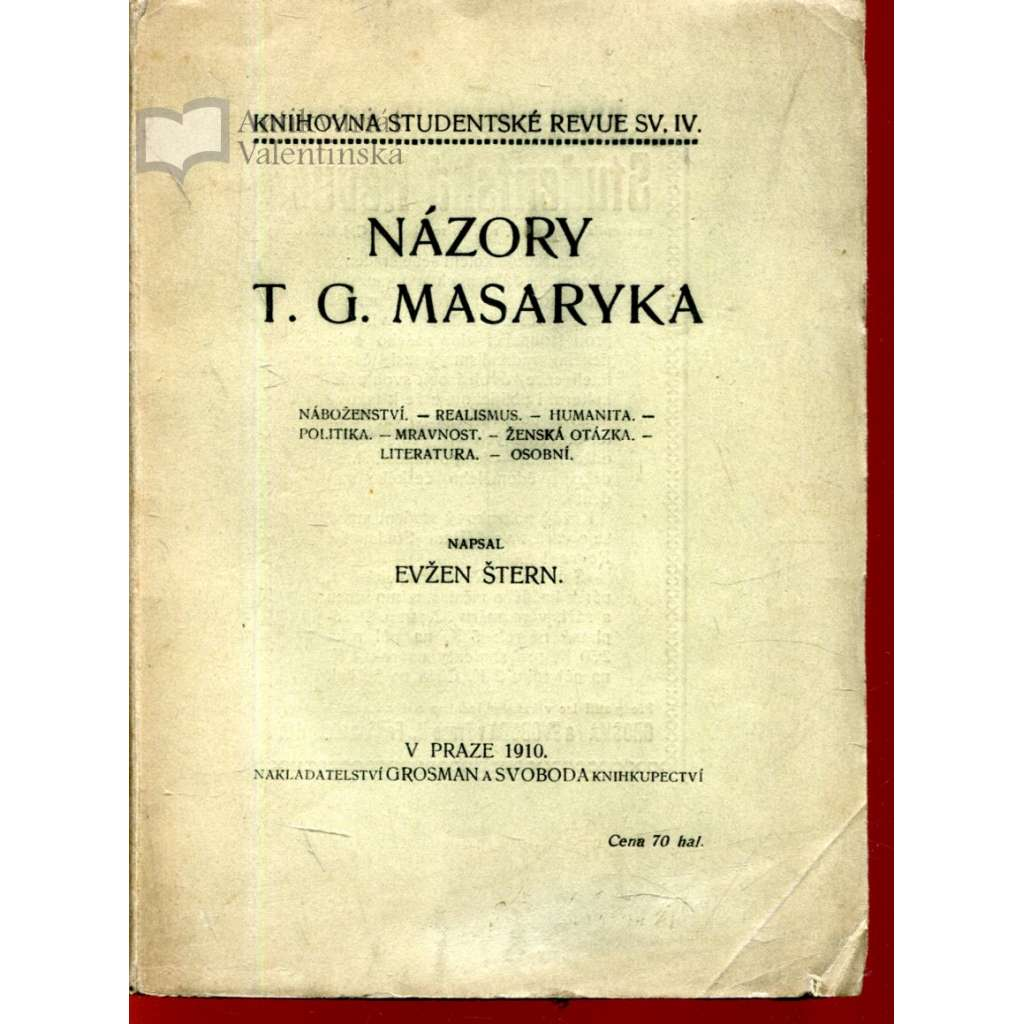 Názory T. G. Masaryka