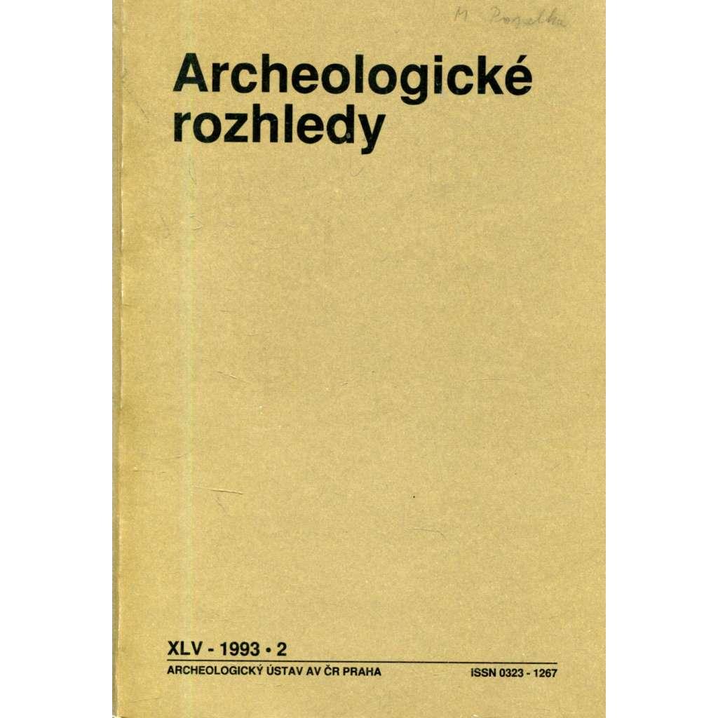 Archeologické rozhledy roč. XLV - 2/1993