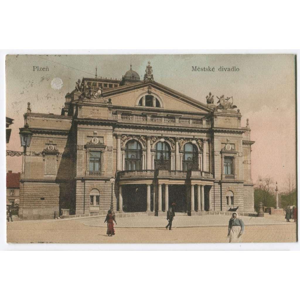 Plzeň , Městské divadlo