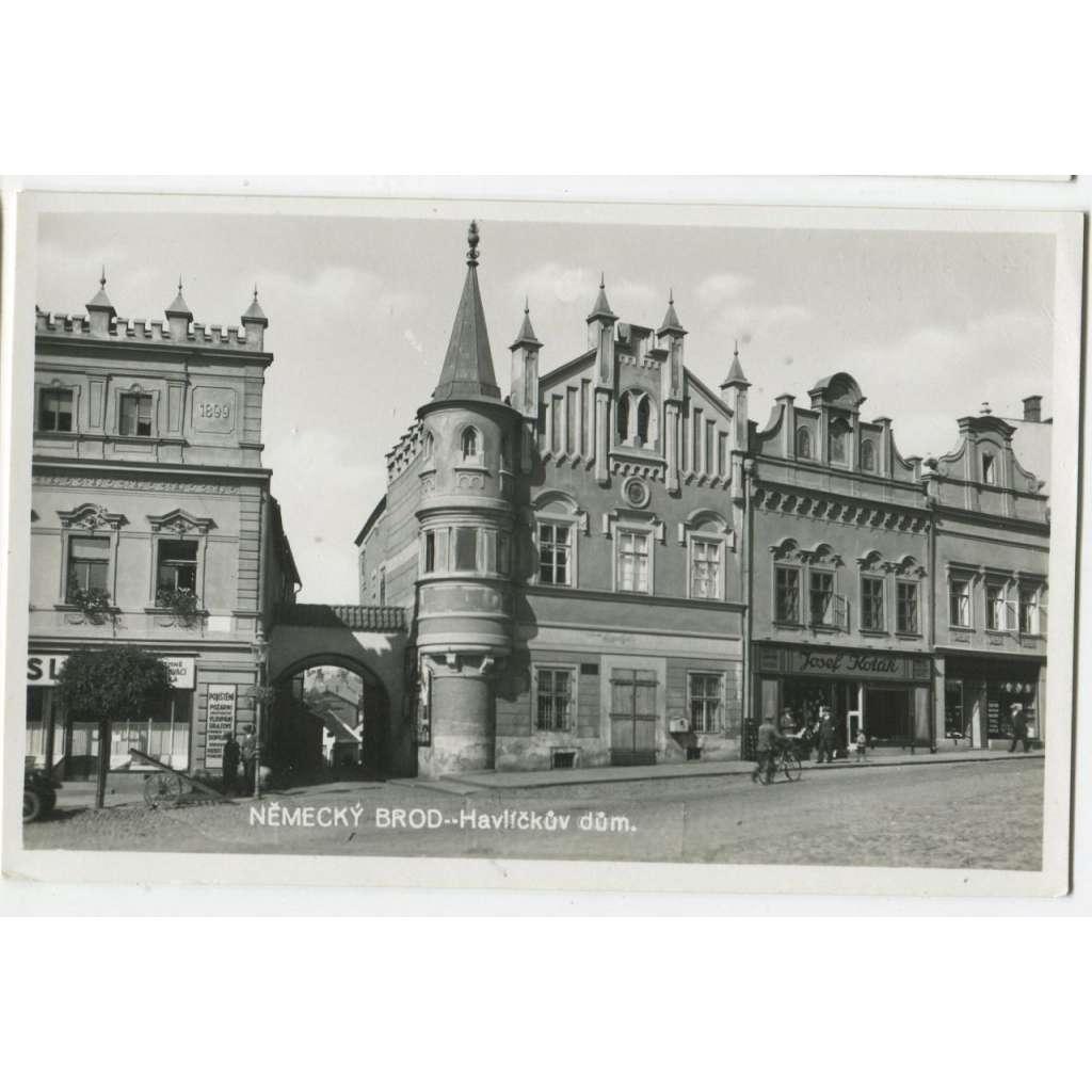 Havlíčkův Brod, Havlíčkův dům