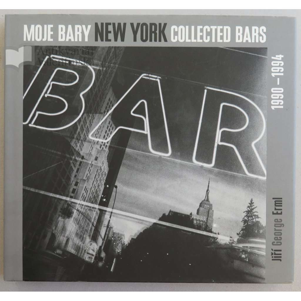 Moje bary = Collected Bars : New York
