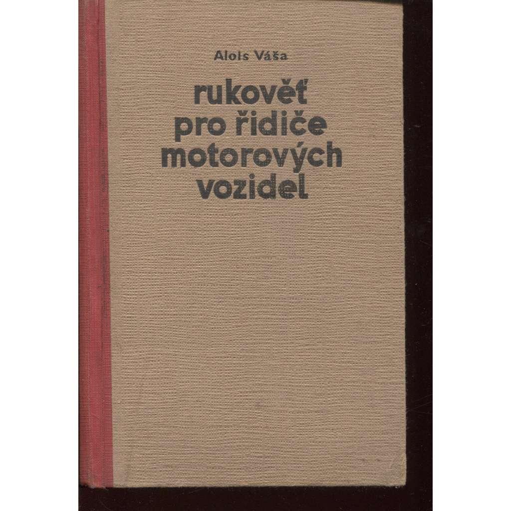 Rukověť pro řidiče motorových vozidel (motorová vozidla)