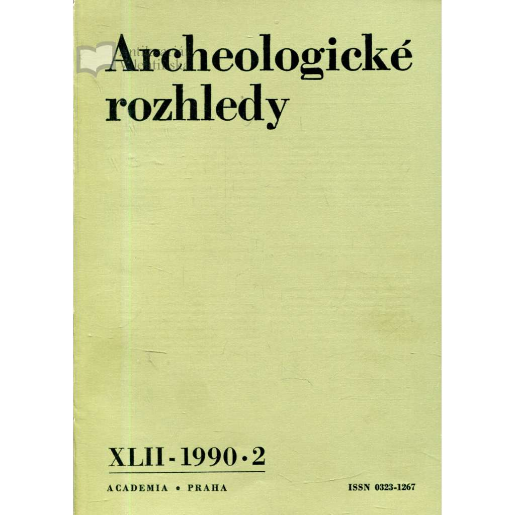 Archeologické rozhledy XLII - 1990, č. 2.