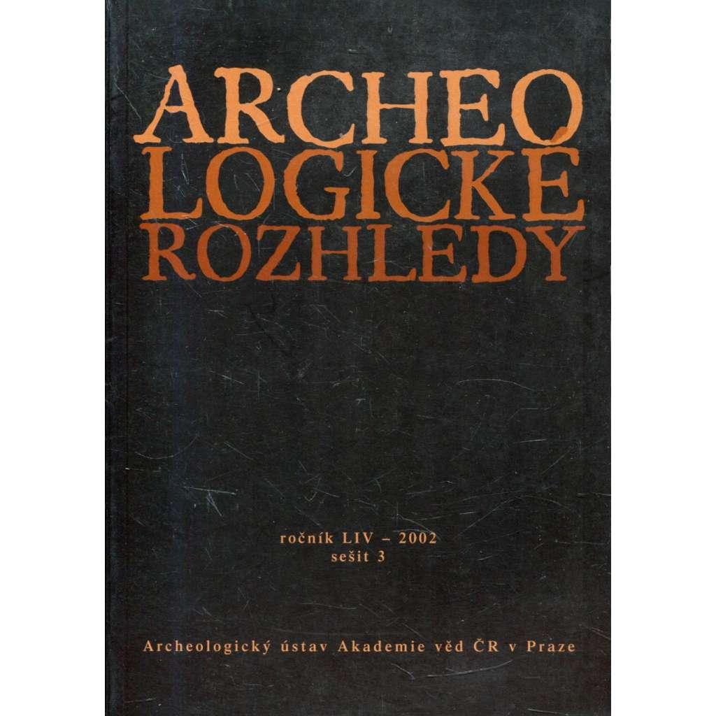 Archeologické rozhledy, roč. LIV - 2002, sešit 3
