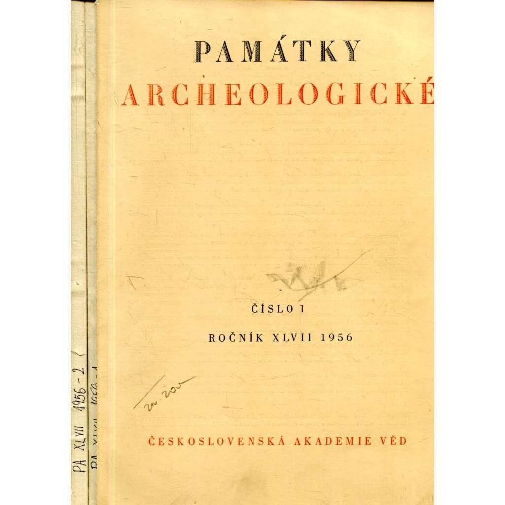 Památky archeologické, č. 1 a 2, roč. XLVII/1956