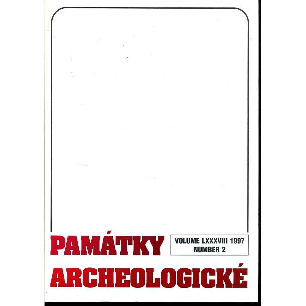 Památky archeologické 1997/2