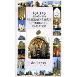 222 nejkrásnějších historických památek do kapsy