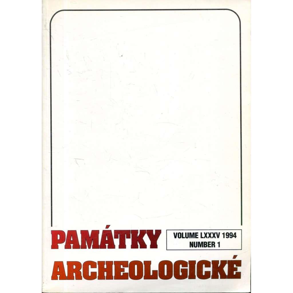 Památky archeologické 1994/1