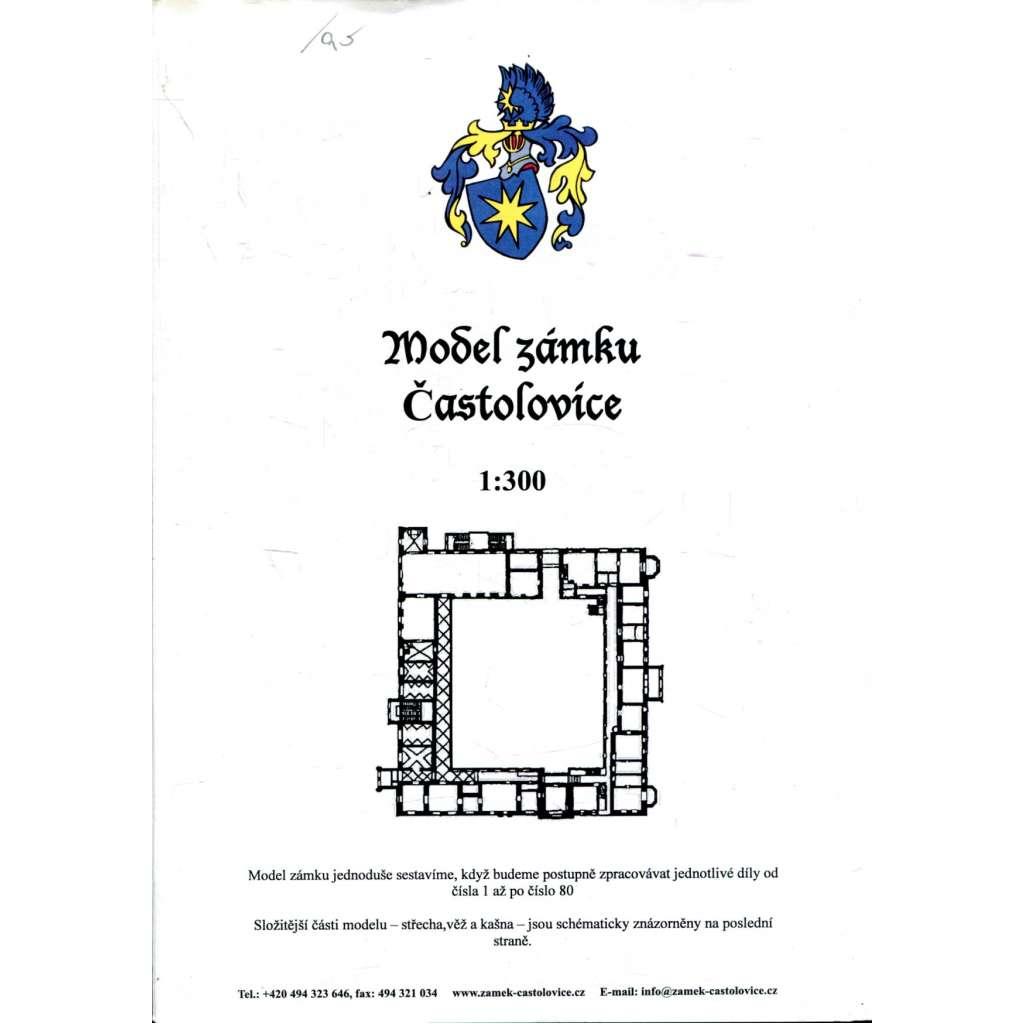 Model zámku Častolovice 1:300