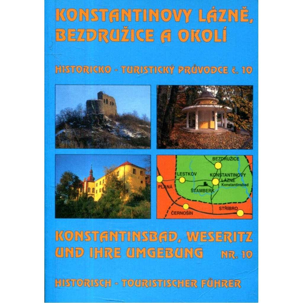 Konstantinovy lázně, Bezdružice a okolí