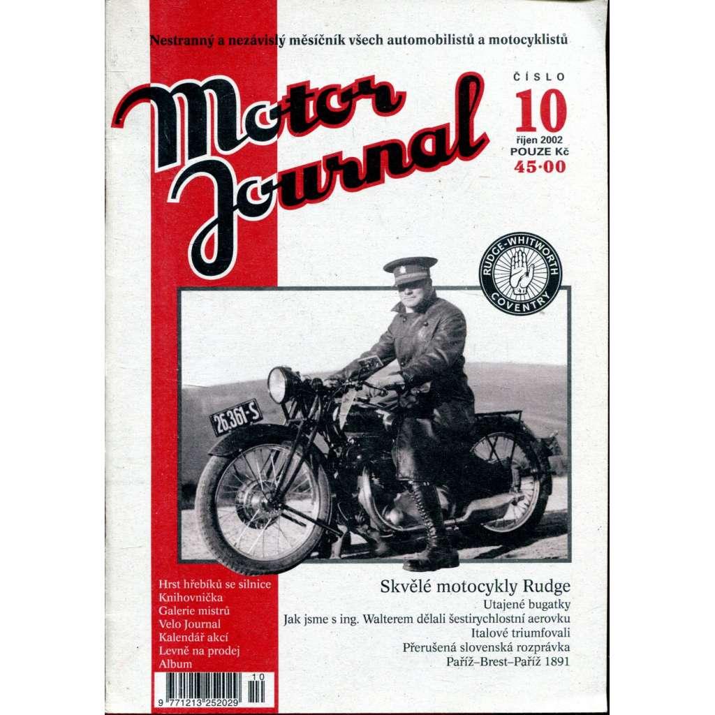 Motor Journal, č. 10/2002 říjen