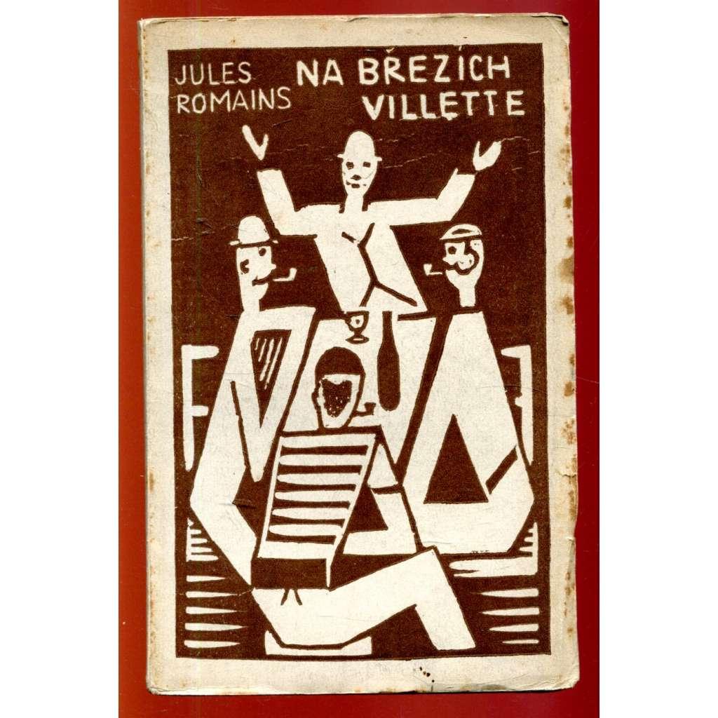 Na březích Villette - obálka Josef Čapek