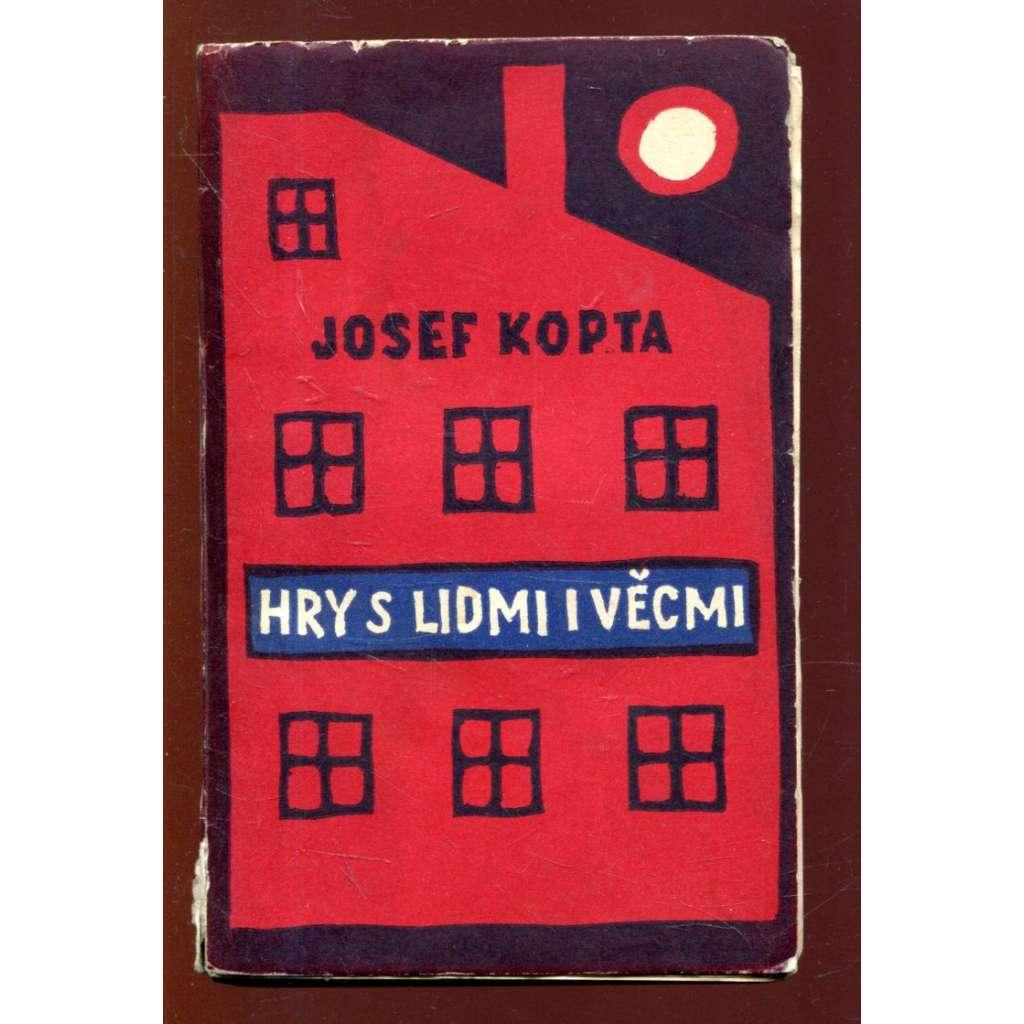 Hry s lidmi i věcmi - obálka Josef Čapek