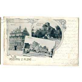 Plzeň, a Radyně - Starý Plzenec
