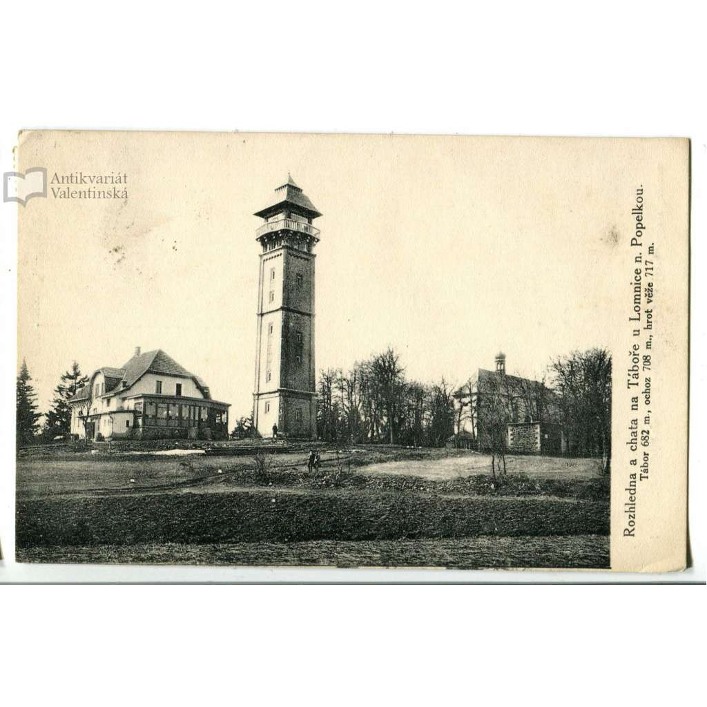 Lomnice nad Popelkou, Semily, rozhledna, Tábor