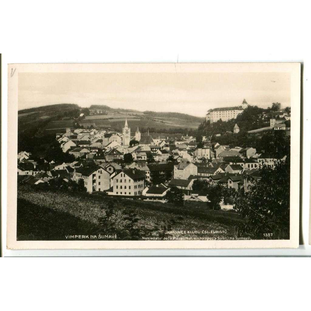 Vimperk, Prachatice, Šumava