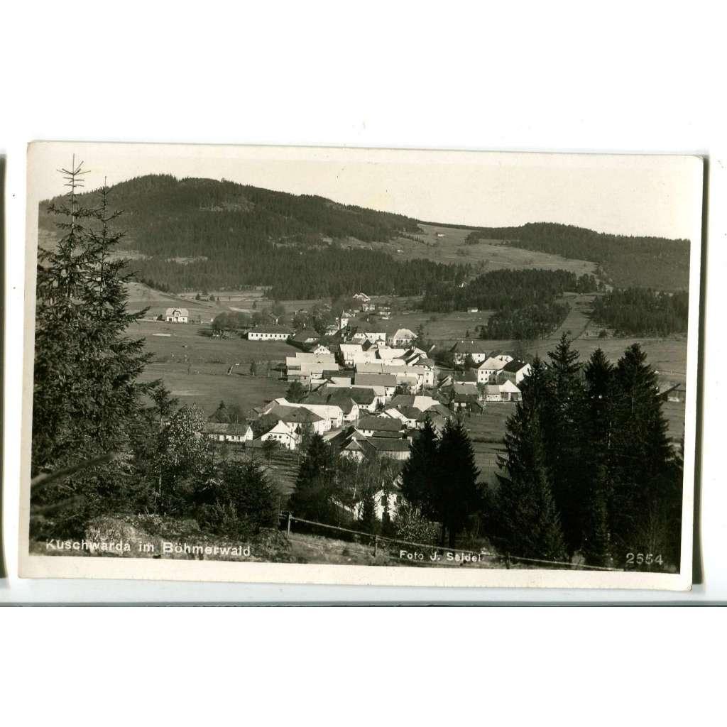 Strážný - Kunžvart, Kuschwarda, Prachatice, Šumava