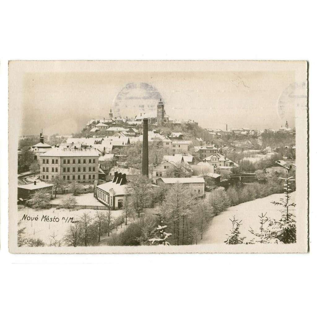 Nové Město nad Metují, Náchod, továrna