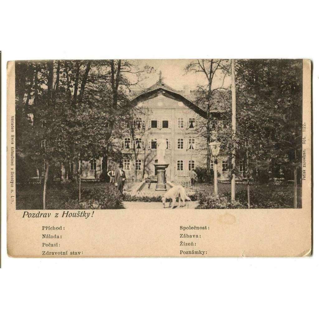 Stará Boleslav, Brandýs n.L, Praha východ, Houštka, lázně (pošk.)