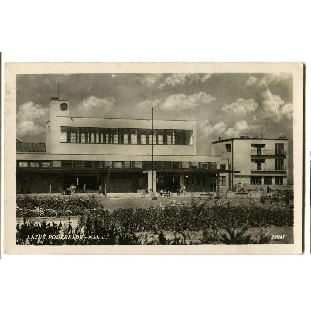 Poděbrady, Nymburk. nádraží