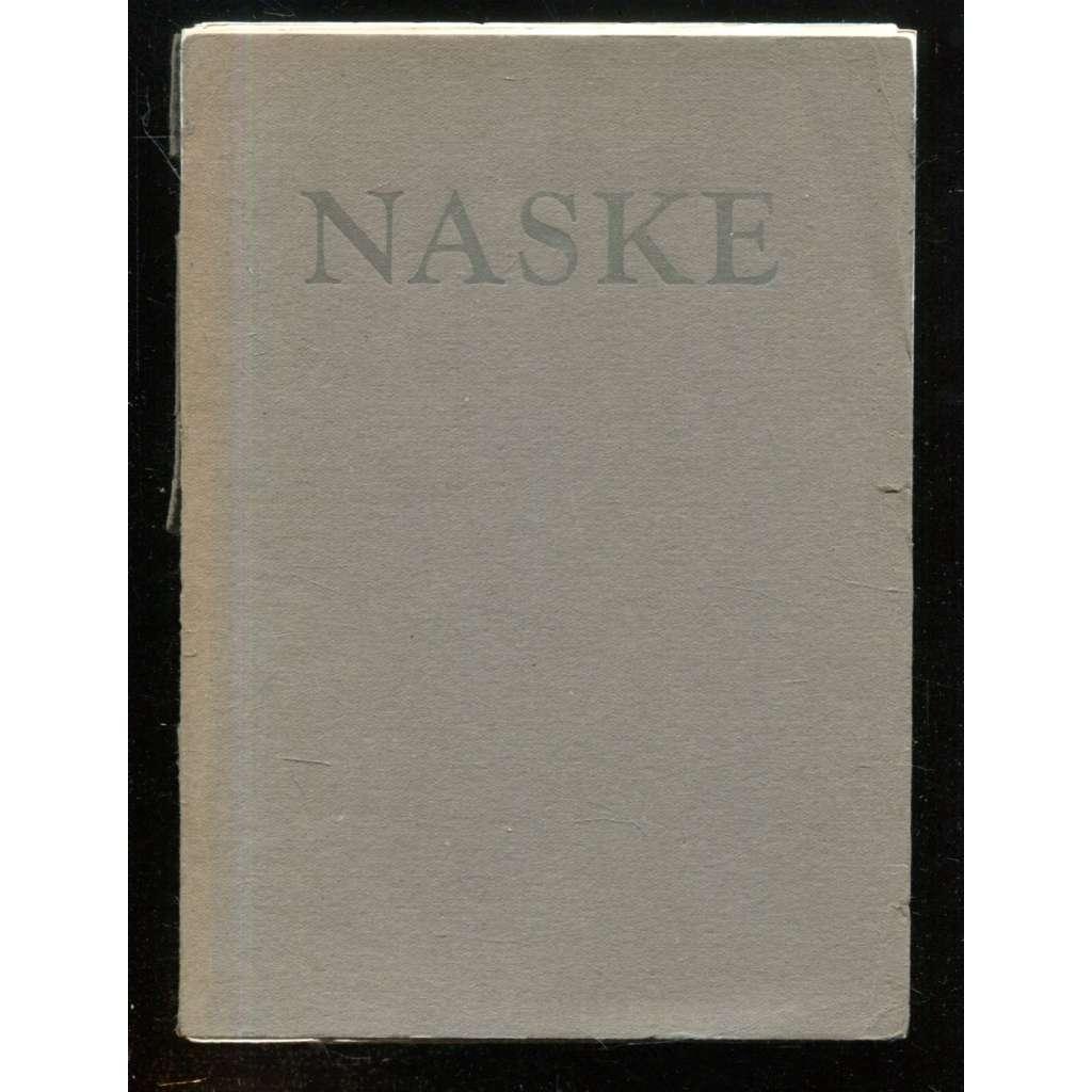 Grafické práce Františka Naskeho (podpis Naske ! ) - (nekompletní přílohy)