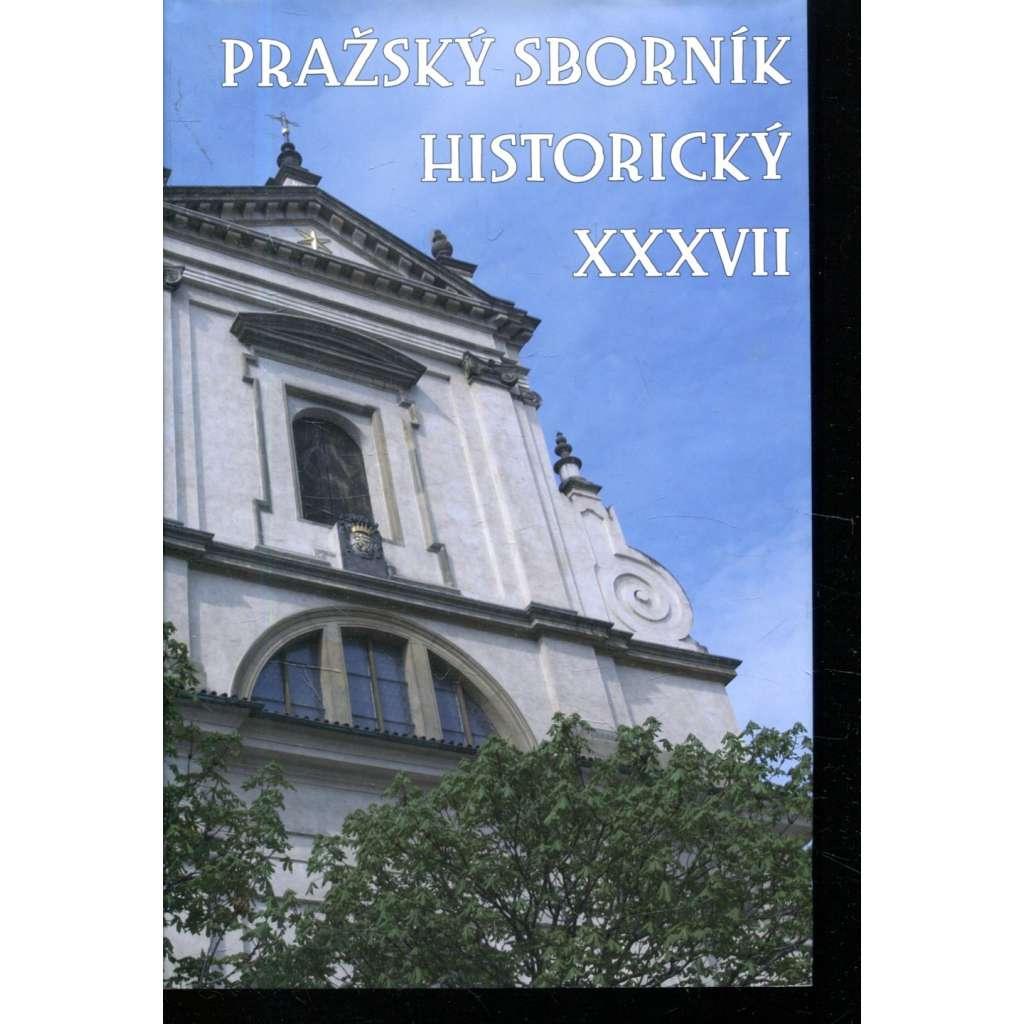Pražský sborník historický XXXVII.