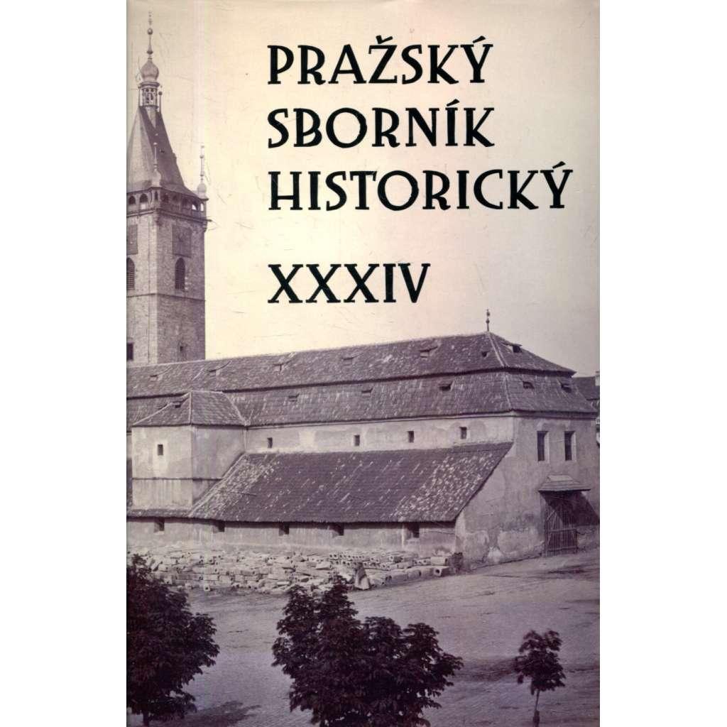 Pražský sborník historický XXIV