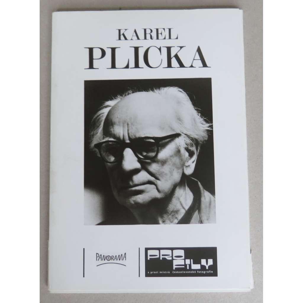 Karel Plicka [Profily z prací mistrů československé fotografie] - Panorama 1981