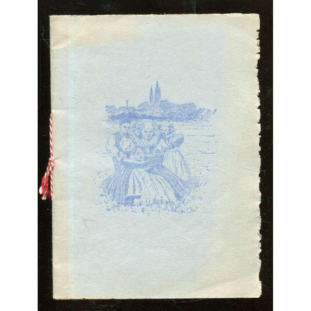 Analekty A Ž  (Župkova rodinná kronika). Bibelotní autotisk 1940