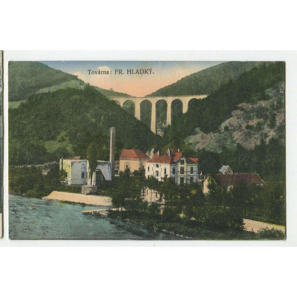 Jílové u Prahy, Praha západ, viadukt Žampach, železnice, továrna