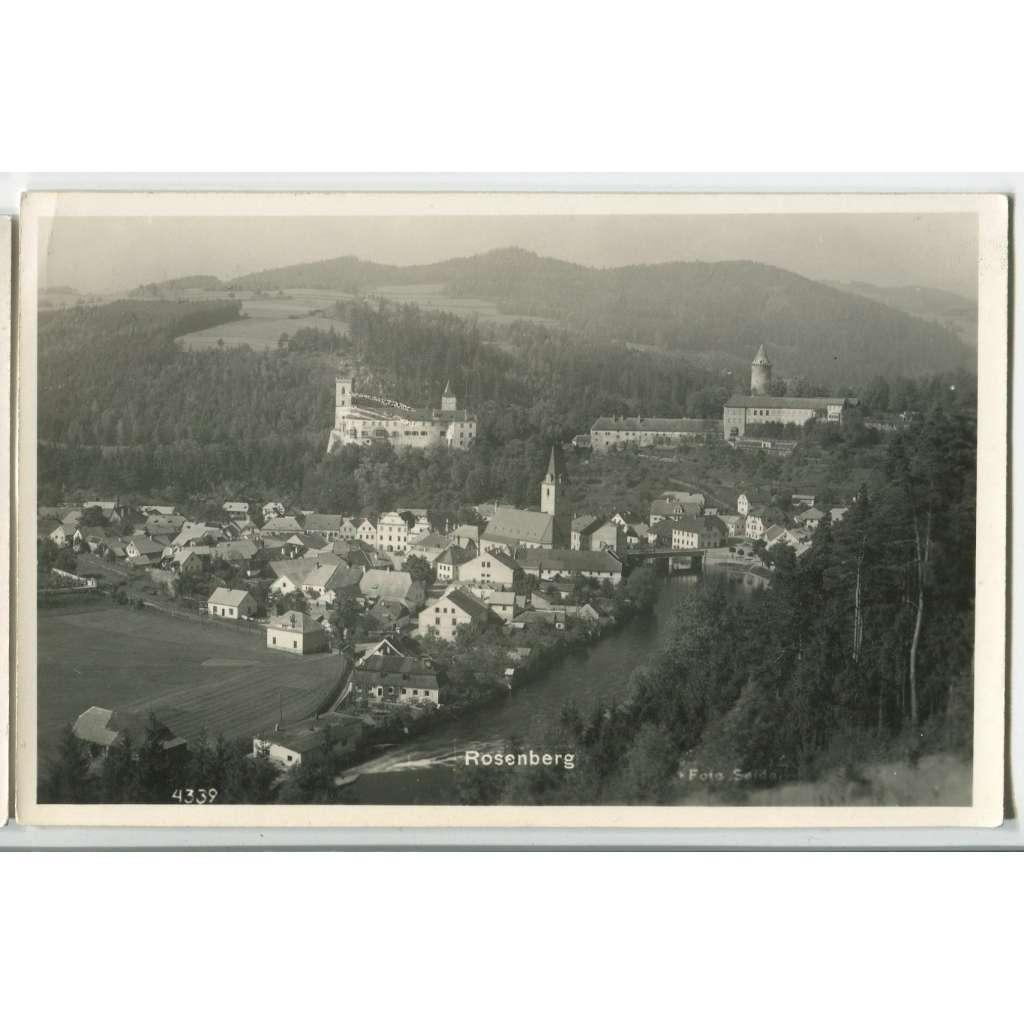 Rožmberk, Český Krumlov, Šumava