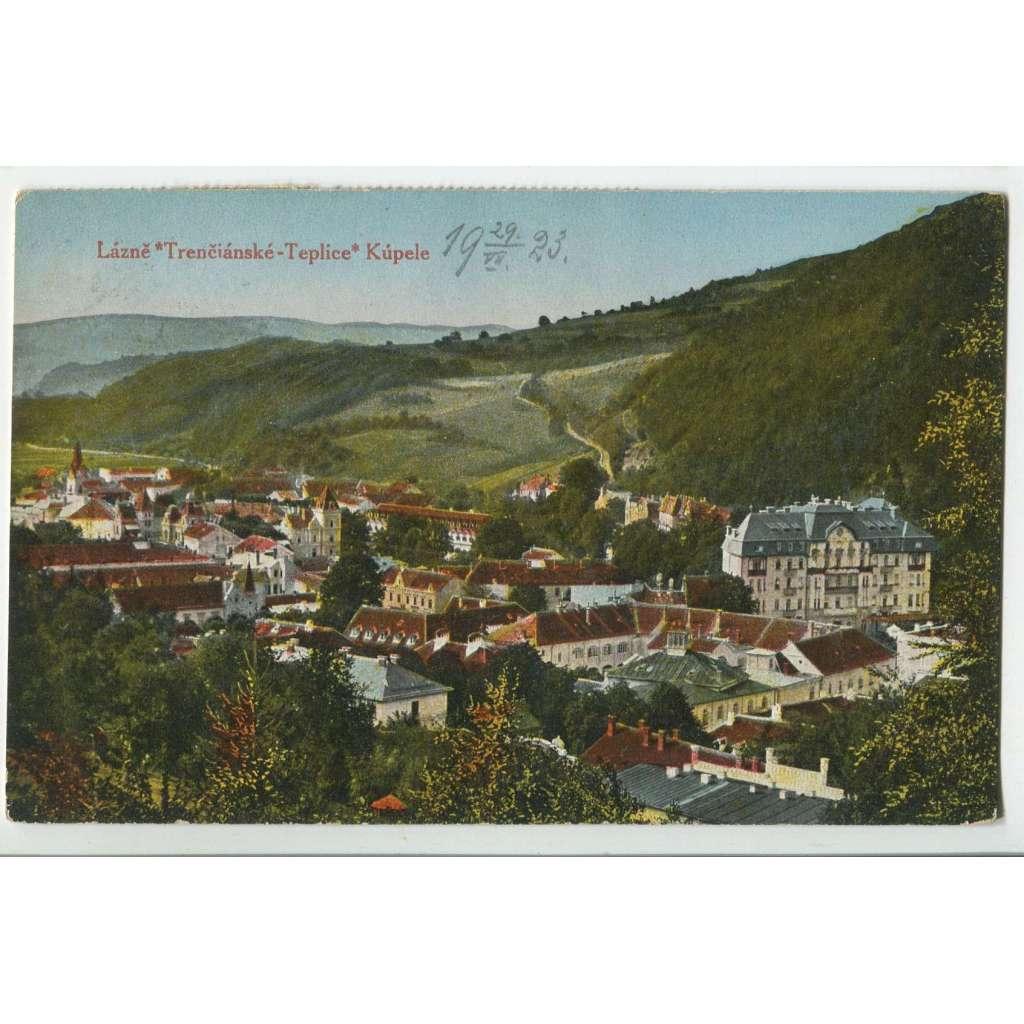 Trenčianske Teplice, Trenčín