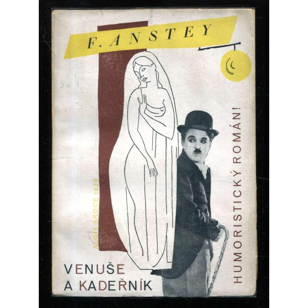 Venuše a kadeřník (obálka fotomontáž)