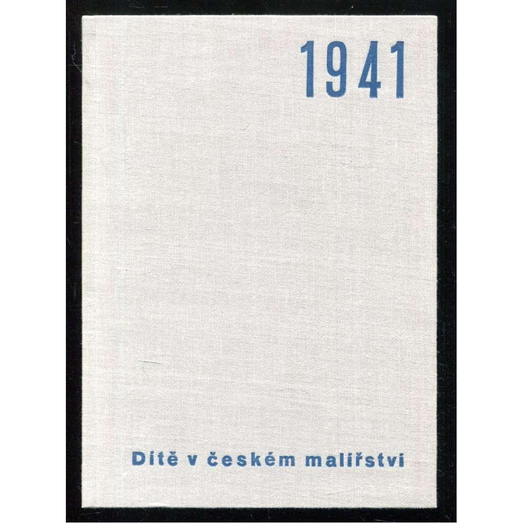 Dítě v českém malířství (kalendář)