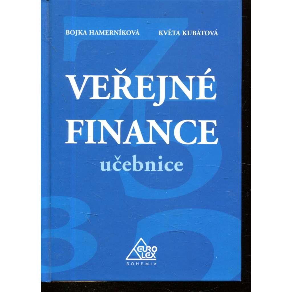 Veřejné finance: Učebnice